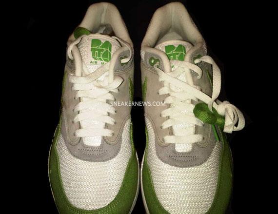 buy popular 68bf6 508bb Nike Air Max 1 Patta – White Chlorophyll – Holiday 2009