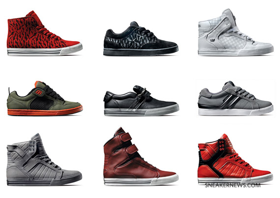 Supra Holiday 2009 Footwear Collection - SneakerNews.com 5cc0d928d