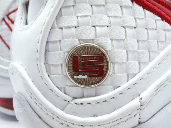 37672650867 Nike Air Max LeBron VII NFW - White - Varsity Red - Detailed Images ...