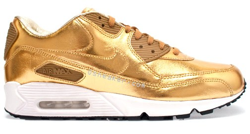 Air Max White And Gold