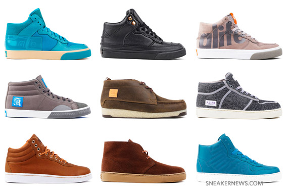 ALIFE Holiday 09 Footwear