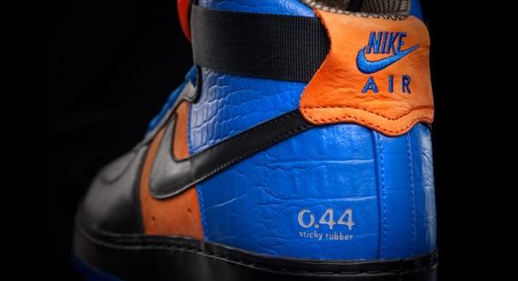 Nike AF 1 Supreme Hi Black Blue Orange · Fresh sneakers and