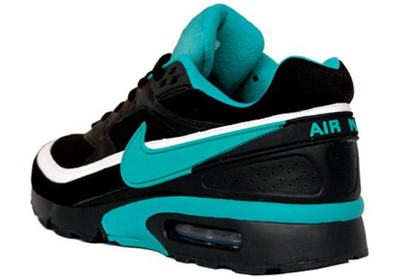 0d19fec41f1c53 Nike Air Classic BW - Black - Turquoise - SneakerNews.com