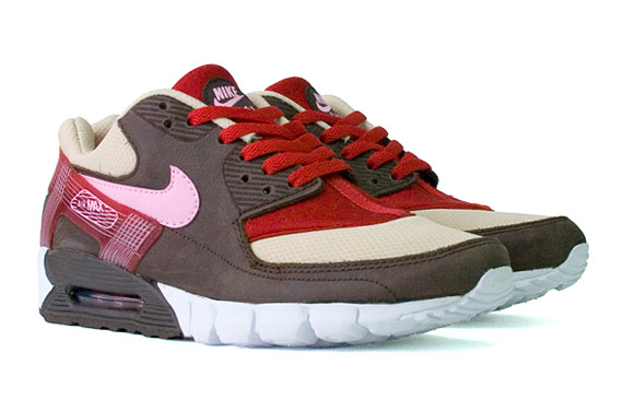 best sneakers e5db2 e4247 DQM x Nike Air Max 90 Current Huarache – Bacon – Available