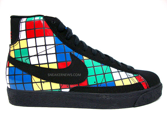 reputable site b2730 e8772 Nike Blazer Mid GS Rubik's Cube - Available On eBay ...
