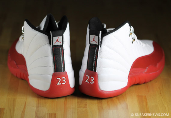 air jordan 12 white red