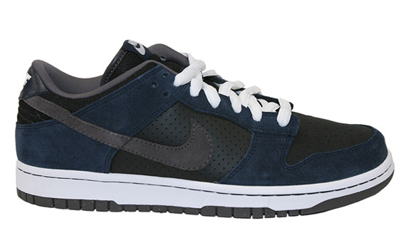 new style 14ce9 ac853 Nike Dunk Low - Black - Midnight Fog - SneakerNews.com
