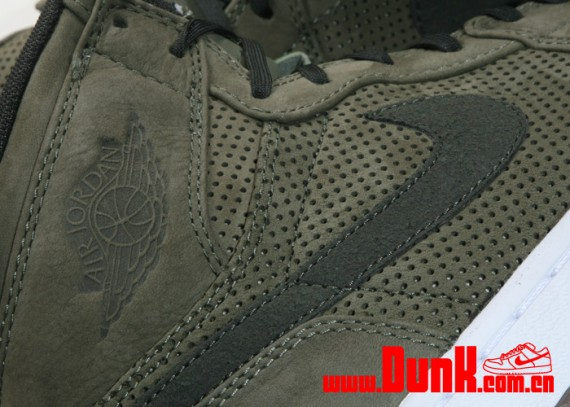 Air Jordan 1 Retro High Premier – Urban Haze/Dark Army – Detailed Images