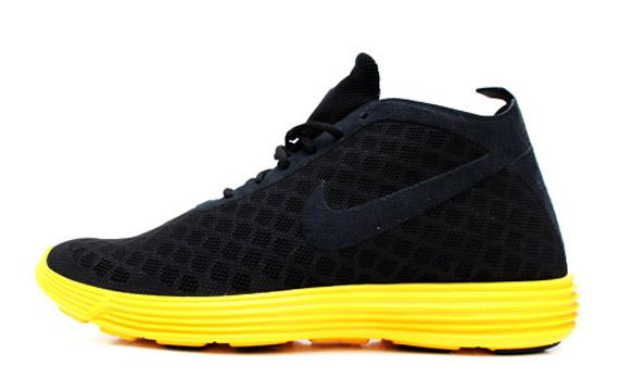 nike lunar black yellow