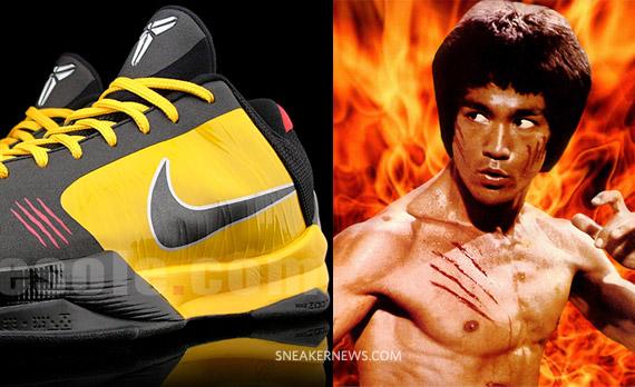 huge discount 97280 ec743 Nike Zoom Kobe V - Bruce Lee - Enter The Dragon/Game of ...
