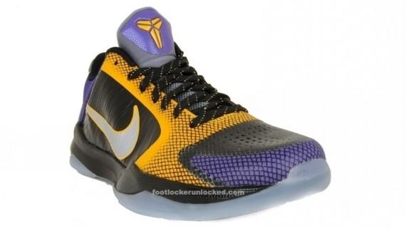 Nike Zoom Kobe V Black Del Sol Varsity Purple Carpe Diem