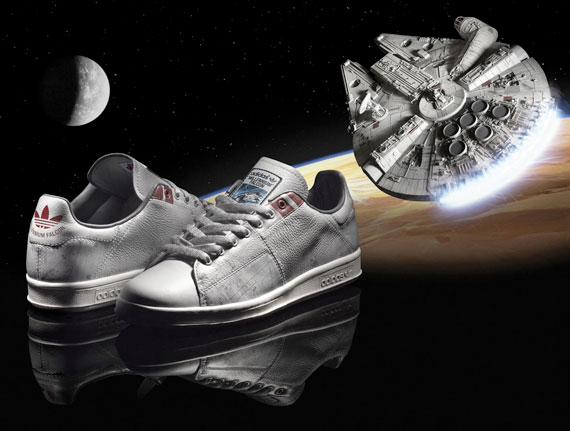 the latest c68dd c9f2b adidas-star-wars-millenium-falcon-02. Advertisement. The adidas Stan Smith  ...