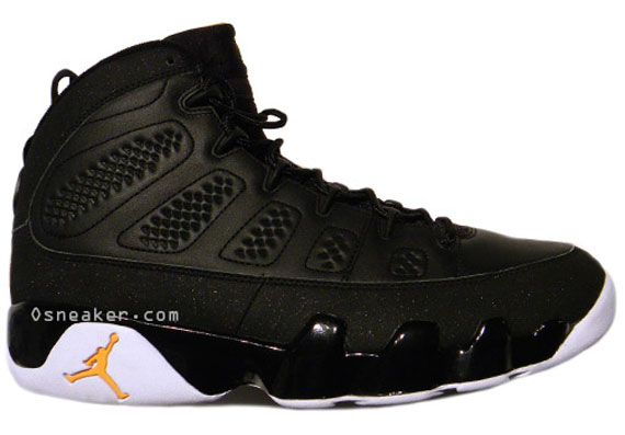 various colors 5fece ae016 Air Jordan IX (9) – Black – Citrus – 2010 Sample