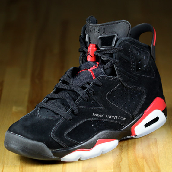 225864889f5 Air Jordan VI (6) Black/Varsity Red - Detailed Images + Wallpaper ...
