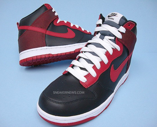 Nike Dunk High North – Black – Varsity Red – Available on eBay