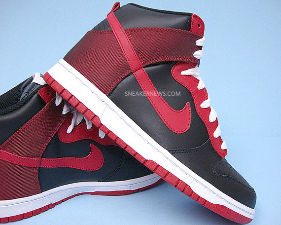 finest selection 90679 71768 Nike Dunk High North - Black - Varsity Red - Available on ...