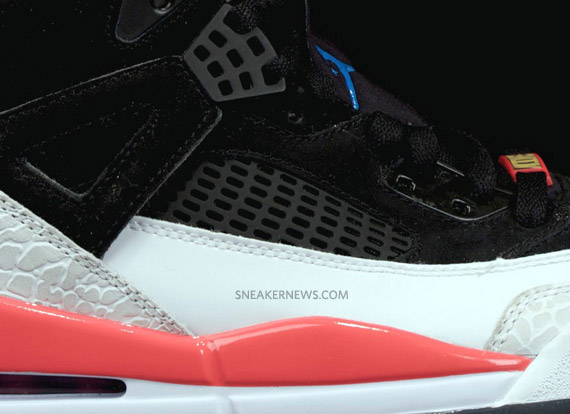 factory price e548f 0525b Air Jordan Spiz ike – Black – White – Fire Red – New Images