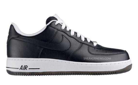 Nike Air Force 1 Black Ice January 2010