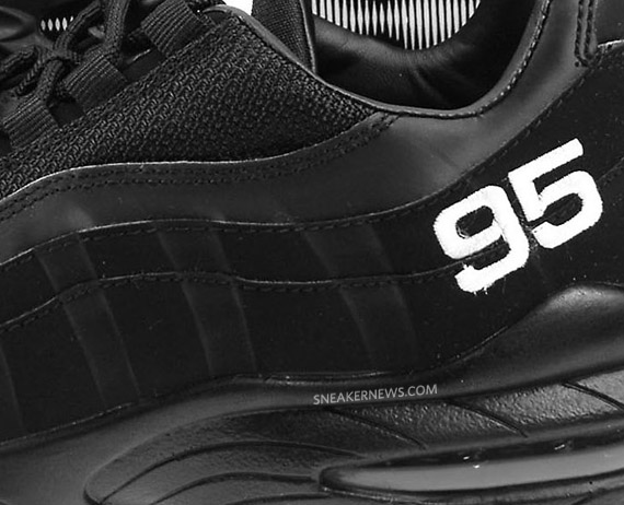 best loved 1b35b 323ca Nike Air Max 95 Black White JD Sports Exclusive delicate ...