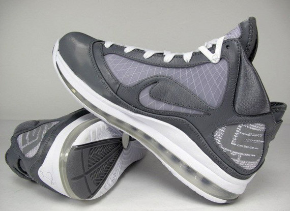 85%OFF Nike Air Max LeBron VII 7 Cool Grey White - eegholmbyg.dk ac7f6ea41f
