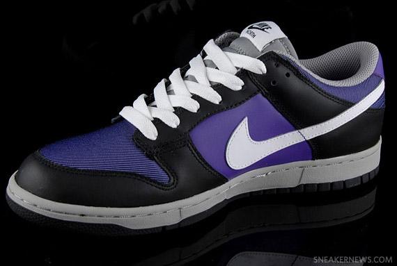 finest selection 008eb c6b00 Nike Dunk Low - North Pack - Black/Purple - Ballistic ...