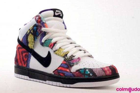 nike shox les crampons métalliques des femmes - Nike SB Dunk Highs + Janoski - 2010 Preview - SneakerNews.com