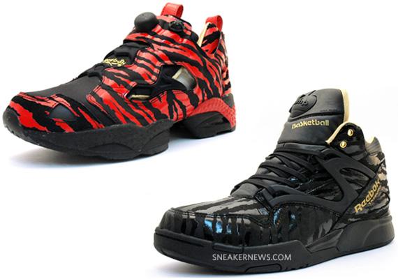Reebok Insta Pump Fury + Pump Omni Lite - Year of the Tiger Pack -  SneakerNews.com a65553a82
