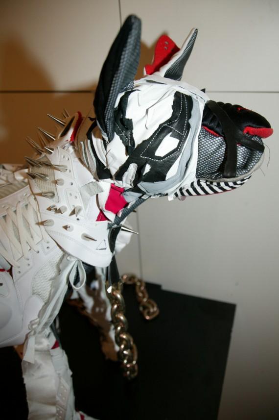 Air Jordan V (5) Nike Air Max Dog Sculptures by Vinti Andrews ...