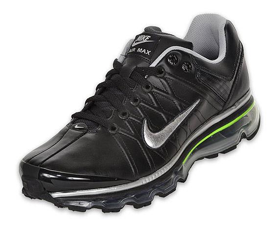 Nike Men S Air Max 2009 Nfw Black Metallic Silver