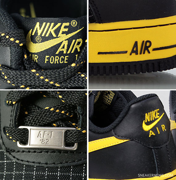 Nike Air Force 1 GS - Black - Speed Yellow - SneakerNews.com f8ee7290e