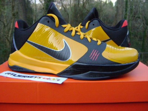 meet f8c04 6e4da ... 5 UNIVERSITY GOLD BRUCE LEE The Nike Zoom Kobe V has taken an  interesting route in its colourwaysthemes adapted from some ...