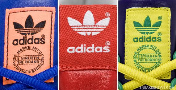 adidas label