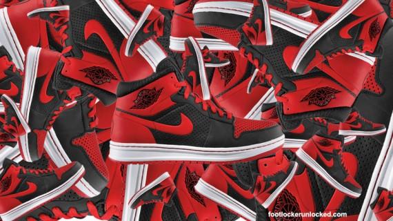 109463d5725 Air Jordan Alpha 1 - Black - Varsity Red - White - Available ...