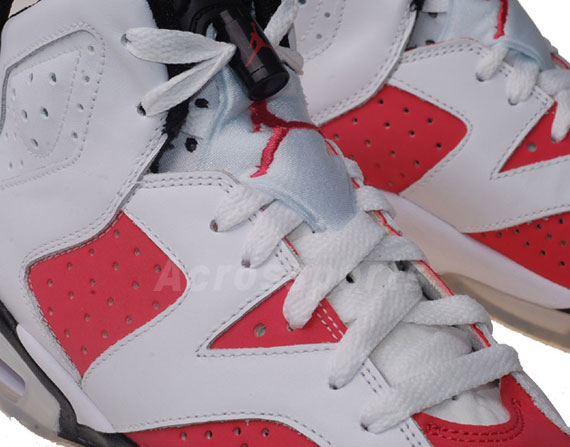 Air Jordan VI (6) GS - White - Coral
