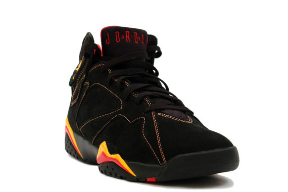 909ed4011bf977 Air Jordan VII (7) Retro 2006 - Black - Citrus - Varsity Red ...