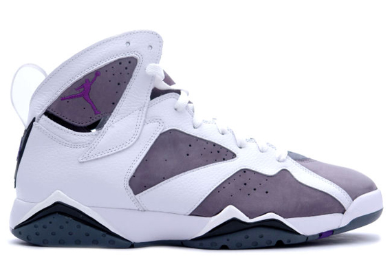 sneakers for cheap e280b 39e35 Color  White Varsity Purple-Flint Grey Style  304775-151. Release Date   April 22, 2006. Another sick colorway of the Air Jordan VII ...
