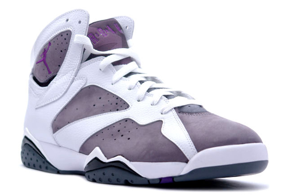 ab628c83cc20 Air Jordan VII (7) Retro 2006 - Flint - White - Varsity Purple ...