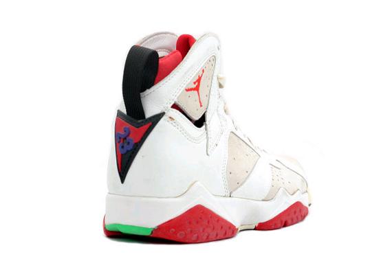 Air Jordan 7 (1992) Black / True Rouge / Lumière IeCyA