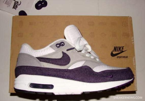 ef969e6406ec3 Patta x Nike Air Max 1 - White - Grand Purple - Available on eBay ...