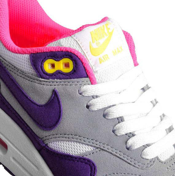 purchase cheap 2e3c4 217f9 Nike WMNS Air Max 1 ND - Club Purple - White - Metallic Silver -  SneakerNews.com