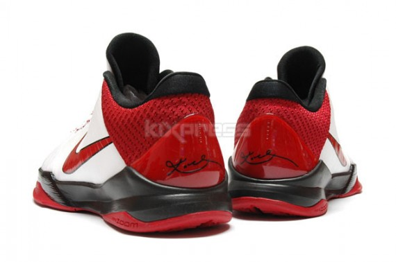 low priced 1eead 4d936 Nike Zoom Kobe V 5 White Varsity Red Black Available on eBay low-cost