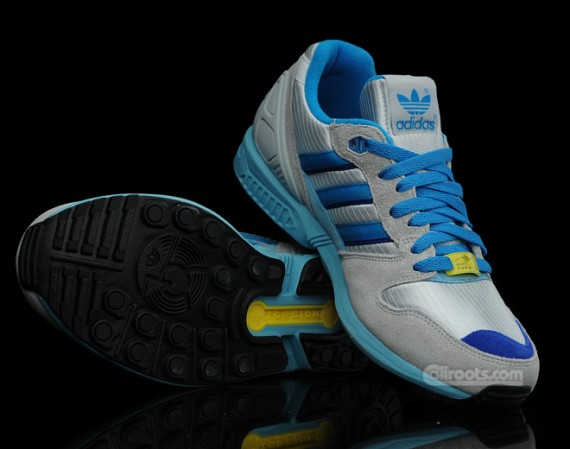 new product afca7 af448 adidas Originals ZX 5000 - Grey - Blue - Yellow ...
