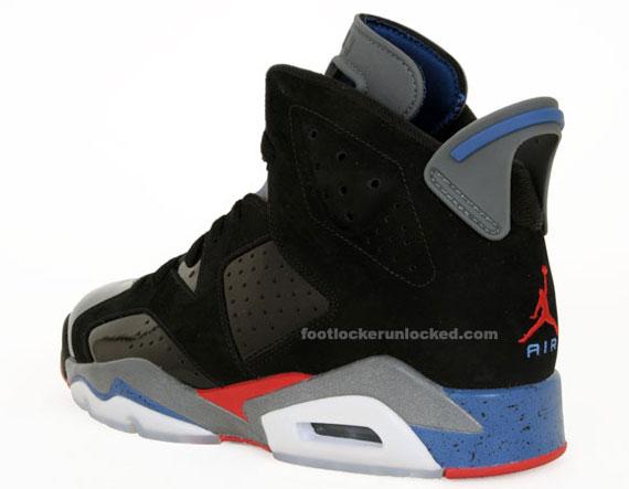 huge discount 0ff28 3fd3e Air Jordan VI (6) Retro –  Pistons  – Release Info