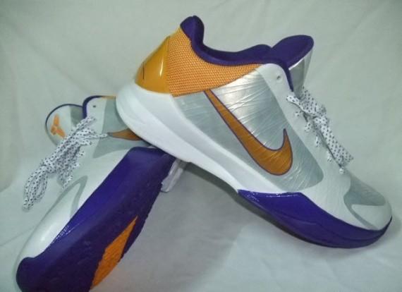 purchase cheap adea6 47a27 Nike Zoom Kobe V (5) - Lakers Home Edition - SneakerNews.com