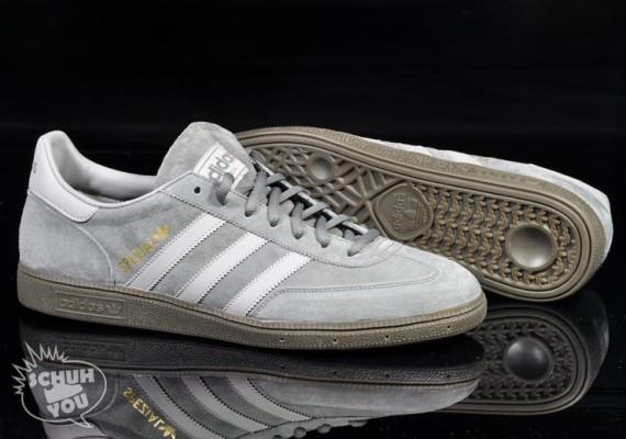 new concept 6389e 0c315 adidas Originals Handball Spezial - Iron - Gum - SneakerNews.com