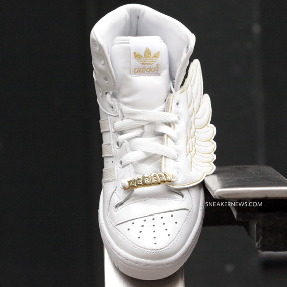 adidas js wings white gold