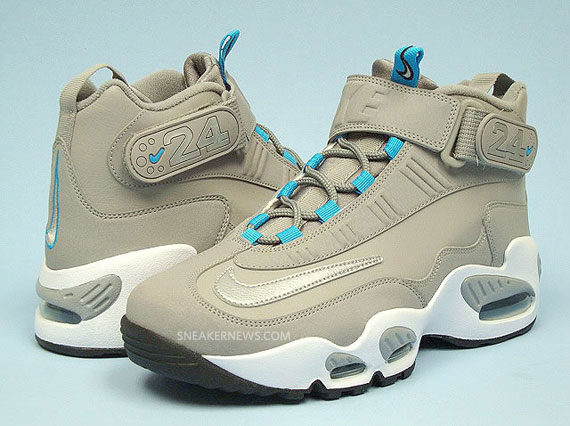Nike Air Griffey Max 1 QS – Cool Grey – Marina Blue – Available on eBay bc8af3f71