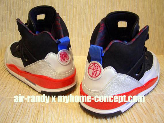 watch e558d 07e21 Air Jordan Spiz ike - Black - New Blue - White - Infrared - May 2010 -  SneakerNews.com