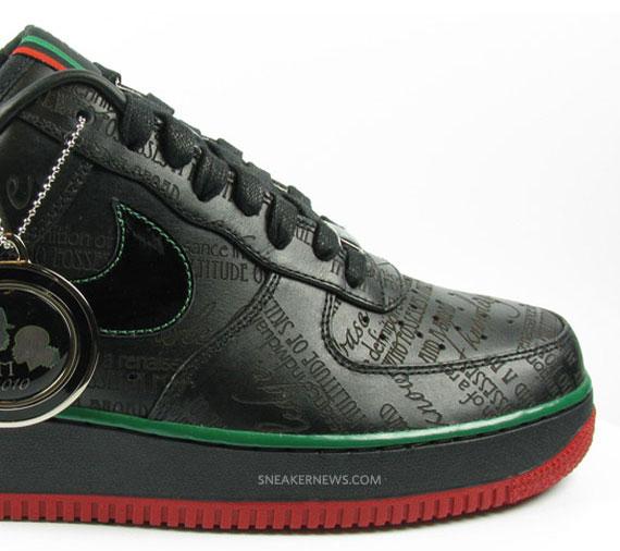 Nike Air Force 1 Bhm 2010 Chevy