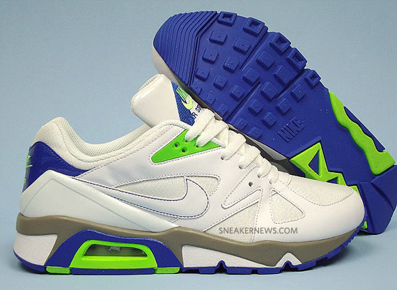 cc7ef60b1a68 Nike Air Structure Triax 91 - White - Electric Green - Blue Sapphire ...